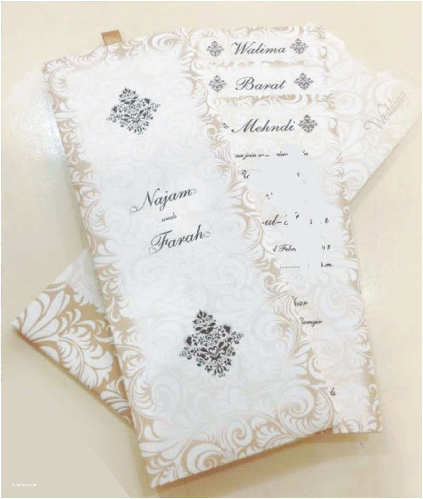 Pakistani Wedding Invitations Usa Zem Printers Wedding Cards