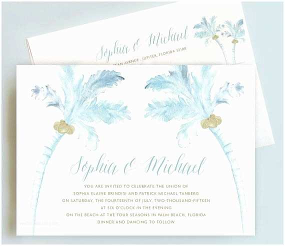 Palm Tree Wedding Invitations Best 25 Tree Wedding Invitations Ideas On Pinterest