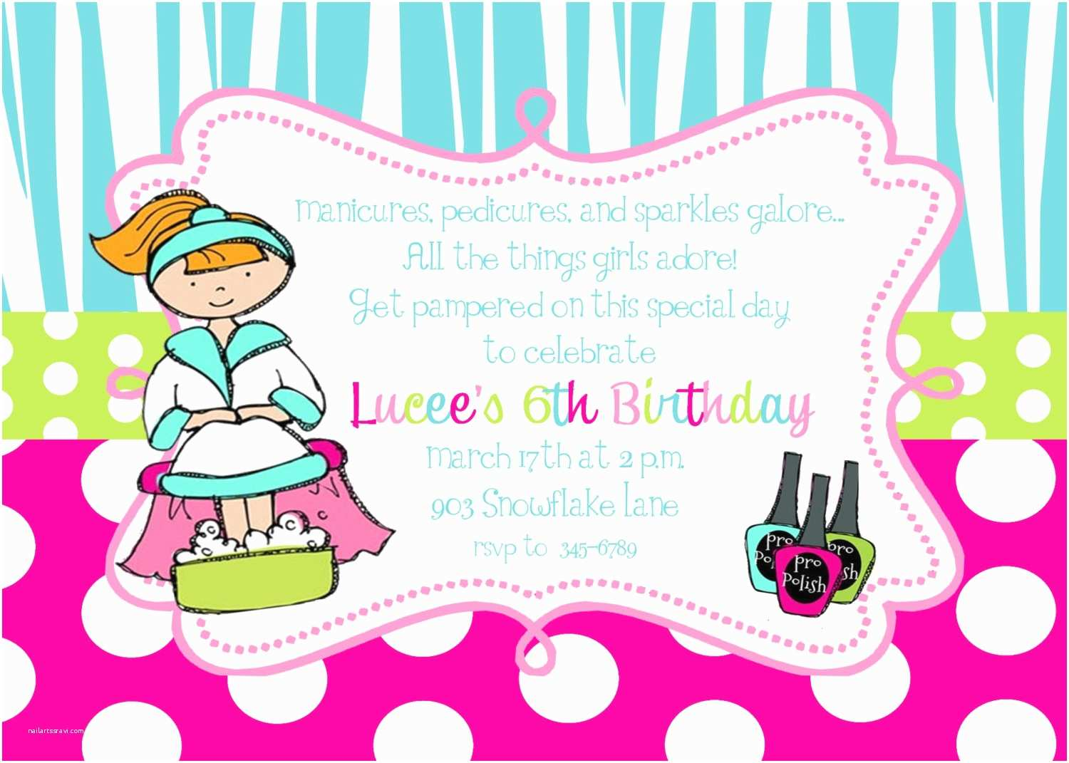 Pamper Party Invitations 12 Spa Pamper Birthday Party Invitations with Envelopes