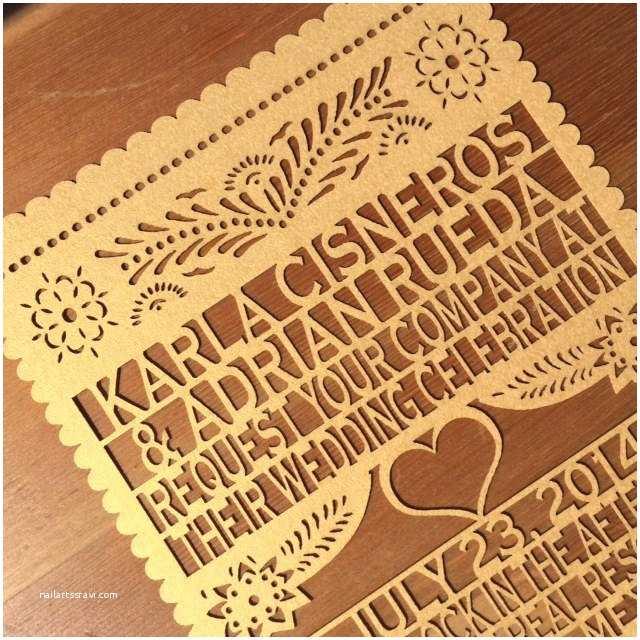 36 Papel Picado Wedding Invitations Nailartssravi