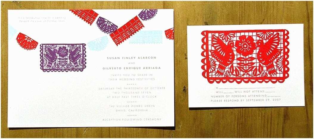 Papel Picado Wedding Invitations Unavailable Listing On Etsy