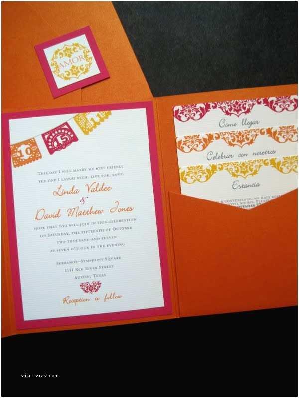 Papel Picado Wedding Invitations the Inviting Pear Blog Mexican Papel Picado Wedding