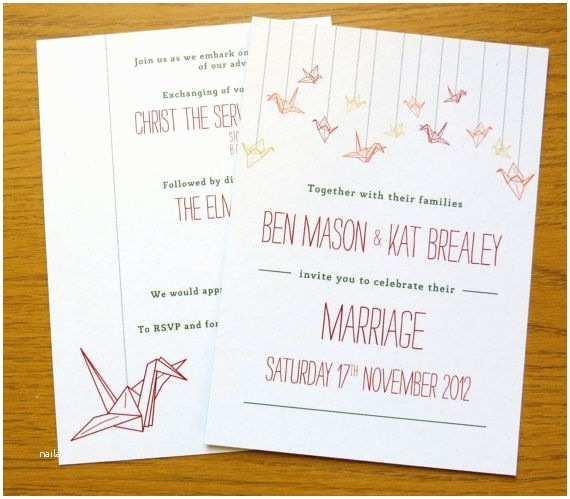 Paper Crane Wedding Invitations Best 25 Paper Crane Wedding Ideas On Pinterest