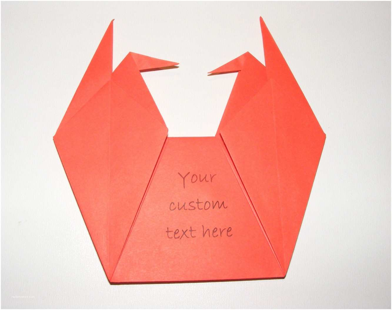 Paper Crane Wedding Invitations origami Envelope for Wedding Invitation Envelope for Baby