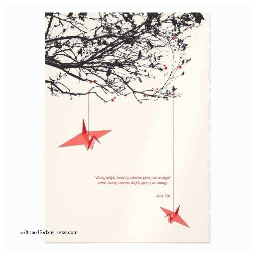 Paper Crane Wedding Invitations Wedding Invitation New origami Crane Wedding Invitations