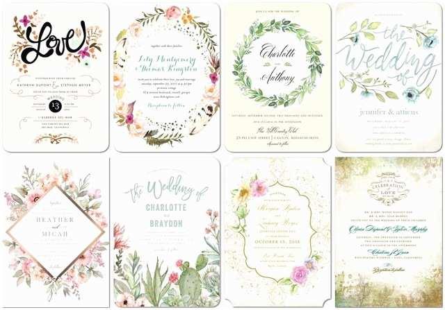 Paper Divas Wedding Invitations top 8 themed Shutterfly Wedding Invitations