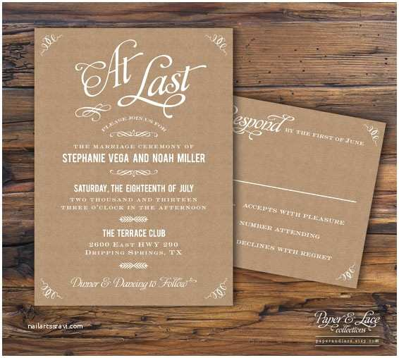 Paper source Wedding Invitations Reviews Best Collection Kraft Paper Wedding Invitations
