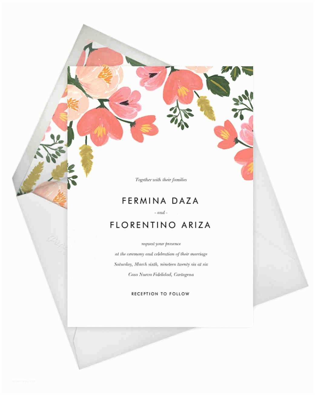 Paperless Post Free Wedding Invitations Must See Check Out Rifle Paper Co S New Paperless Pos and