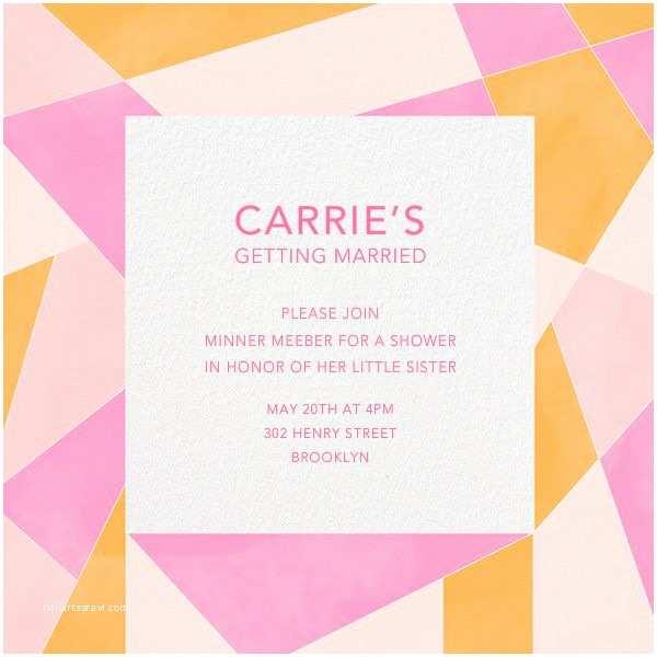 Paperless Wedding Invitations 220 Best Bridal Shower Invitations Images On Pinterest