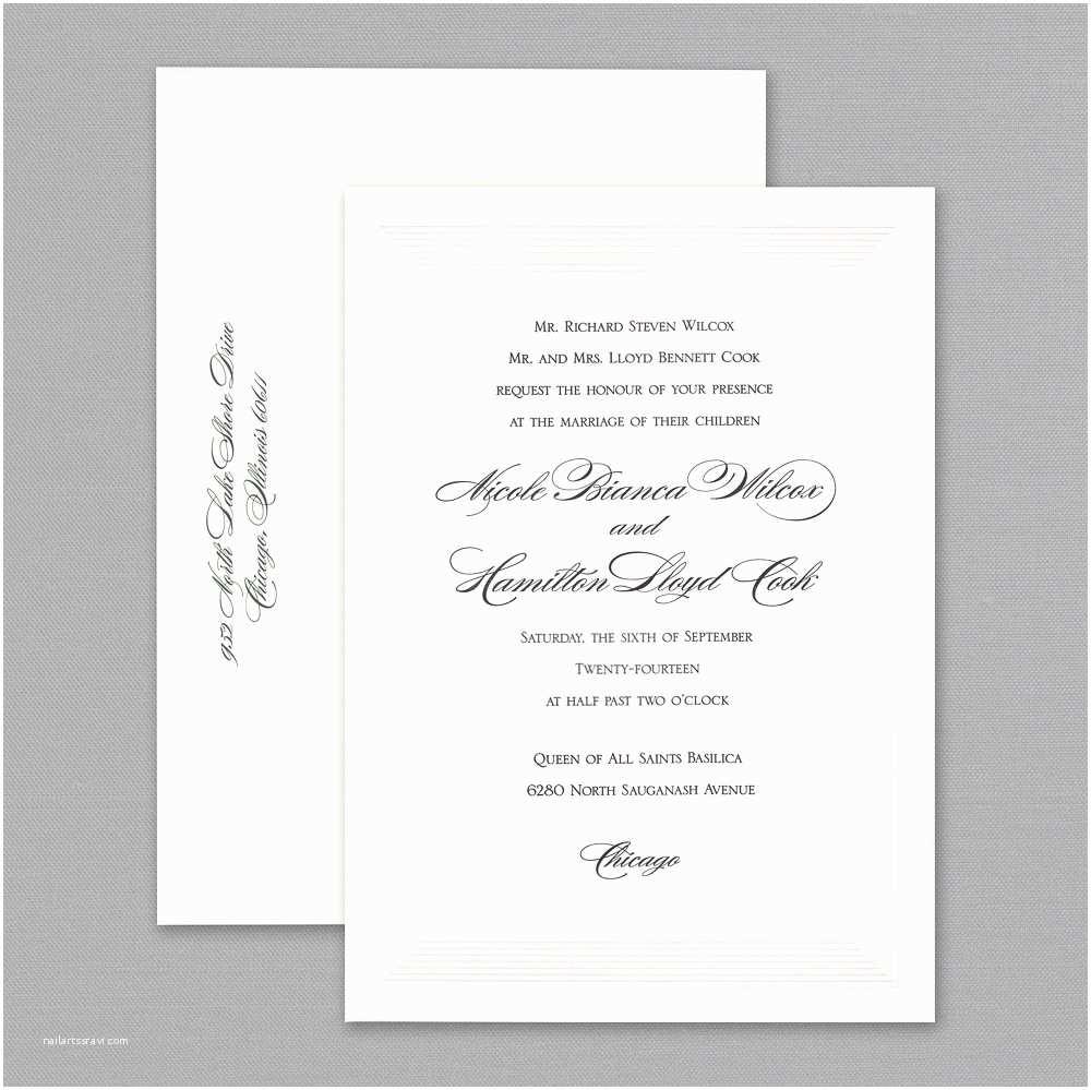 Paperless Wedding Invitations top Vera Wang Wedding Invitations Get A First Look