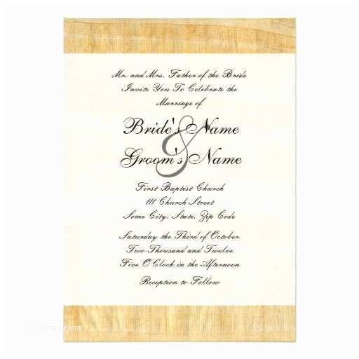 Papyrus Wedding Invitations Papyrus Paper Wedding Invitation