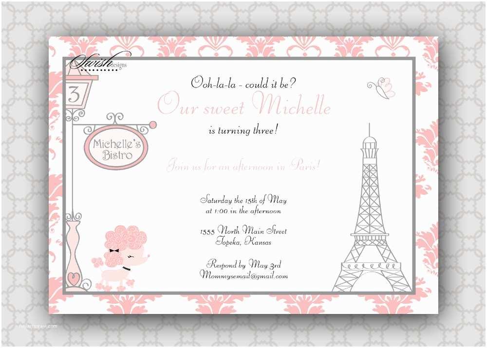Paris Birthday  Paris Birthday