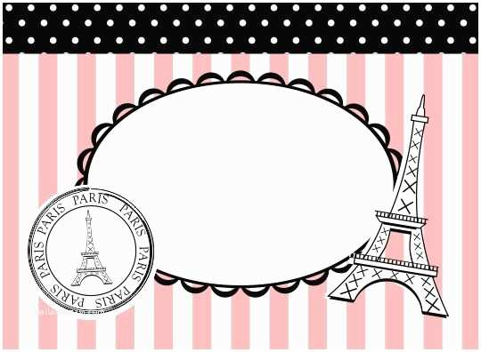 Paris Party Invitations Paris Party Invitations
