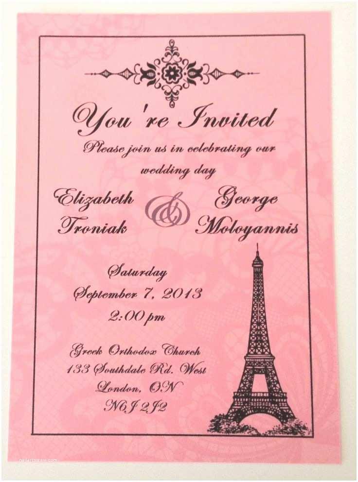 Paris themed Wedding Invitations 25 Best Ideas About Paris themed Weddings On Pinterest