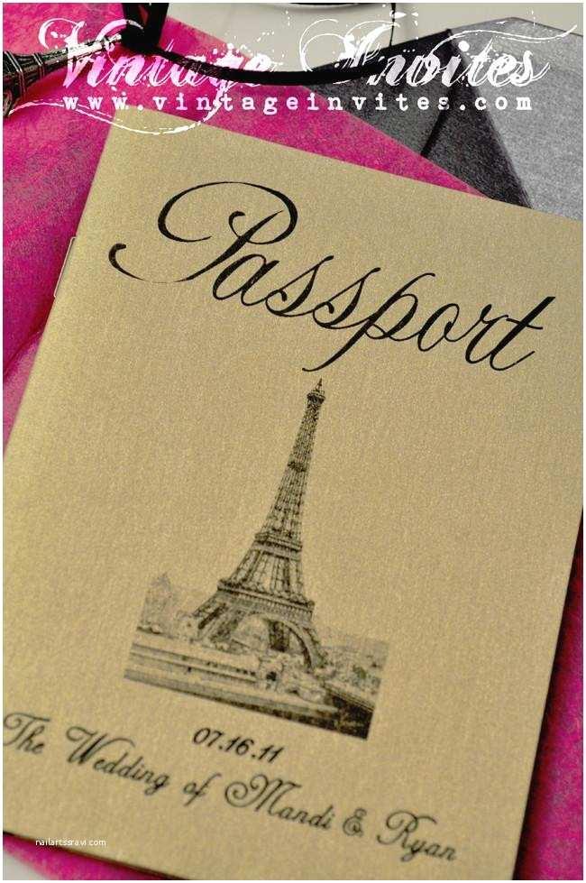 Paris Themed  Invitations Vintage  Love Vintage Invites