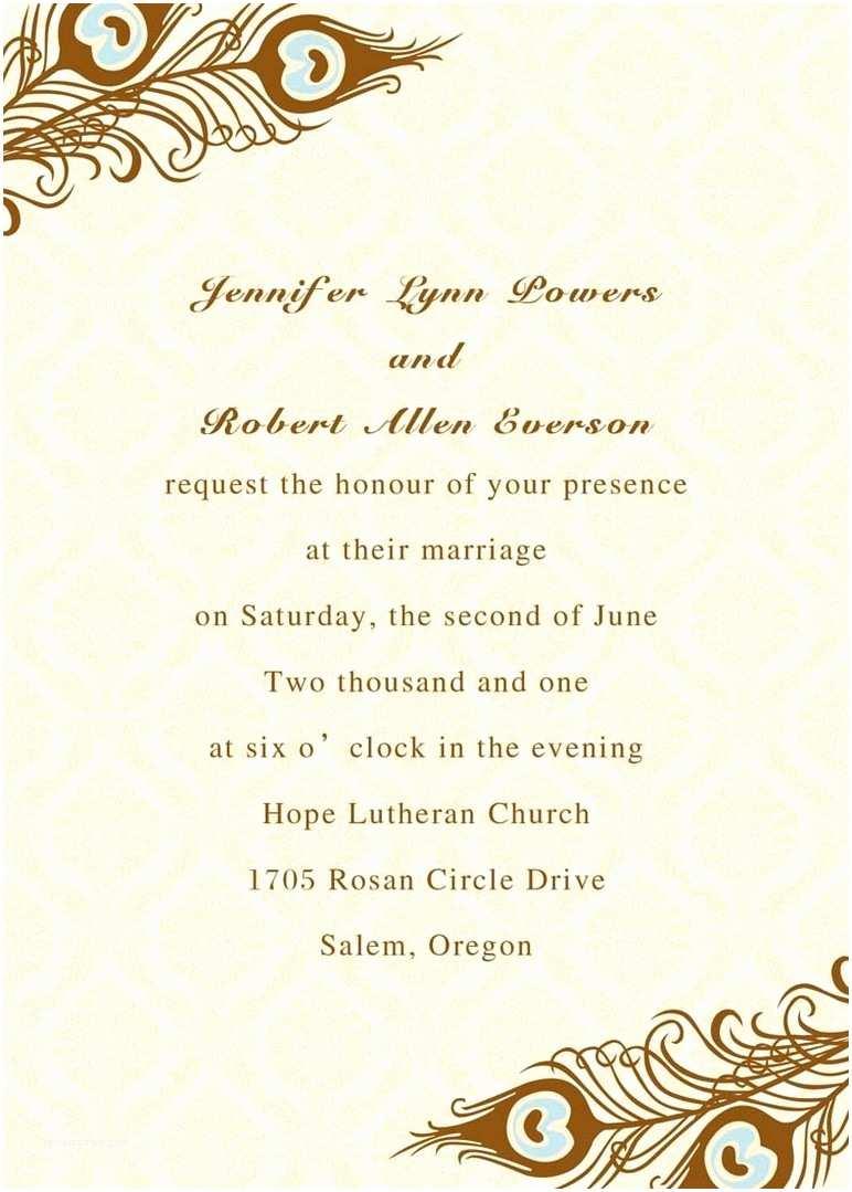 Parts Of Wedding Invitation Example Wedding Invitation Parts