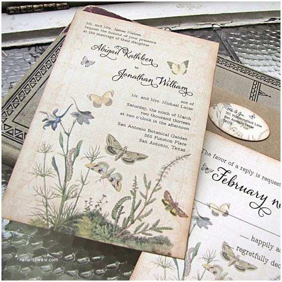 Parts Of Wedding Invitation Le Printemps S Incruste Dans Les Faire Part De Mariage