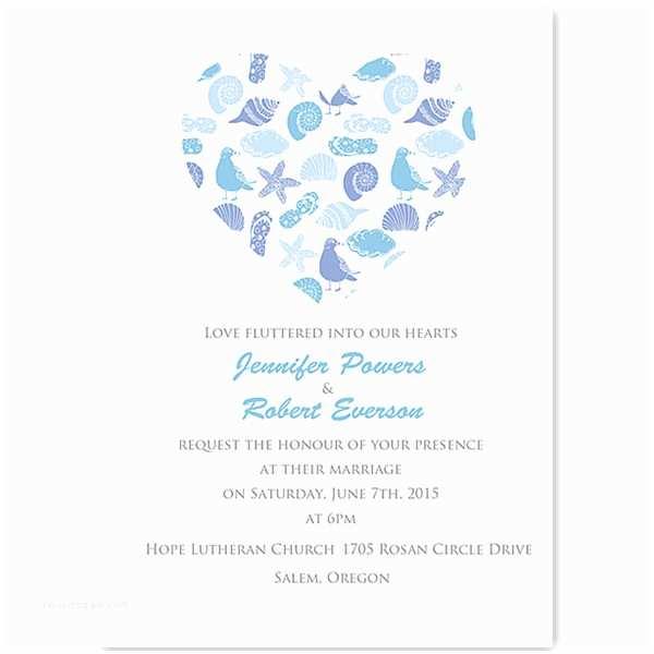 Parts Of Wedding Invitation Shop Beach Wedding Invitations Line
