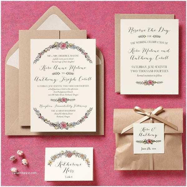 Parts Of Wedding Invitation Simple Creative Diy Wedding Invitations