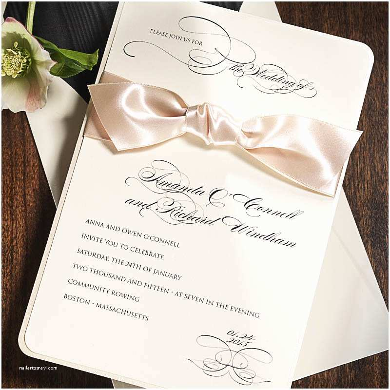 Parts Of Wedding Invitation Wedding Invitation Etiquette Part 2 A touch Of White