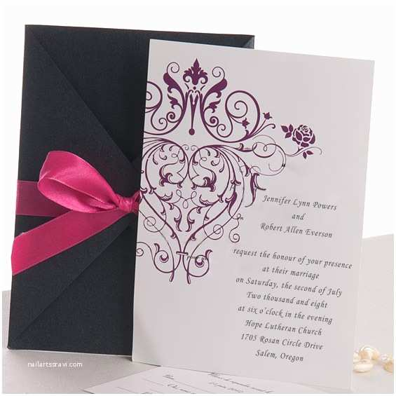 Parts Of Wedding Invitation Winter Wedding Invitations Line at Elegant Wedding