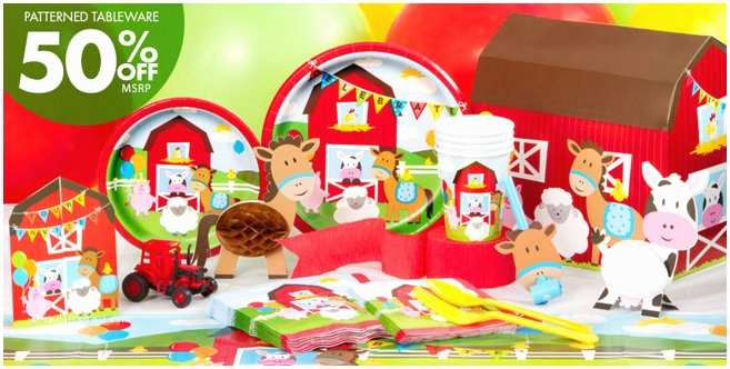 Party City Birthday Invitations Farmhouse Fun Birthday Party Supplies Party City