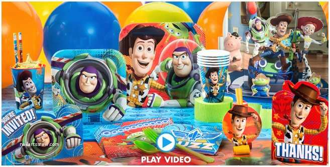 Party City Birthday Invitations toy Story Party Supplies toy Story Birthday Party City