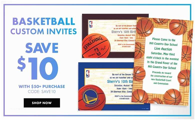 Party City Custom Invitations Sports Banners &