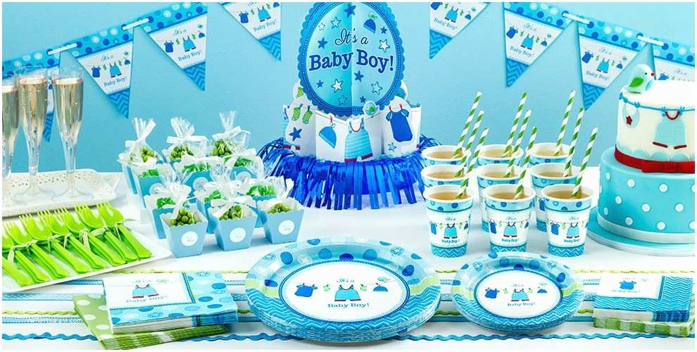 Party City Invitations for Baby Shower It S A Boy Baby Shower Party Supplies