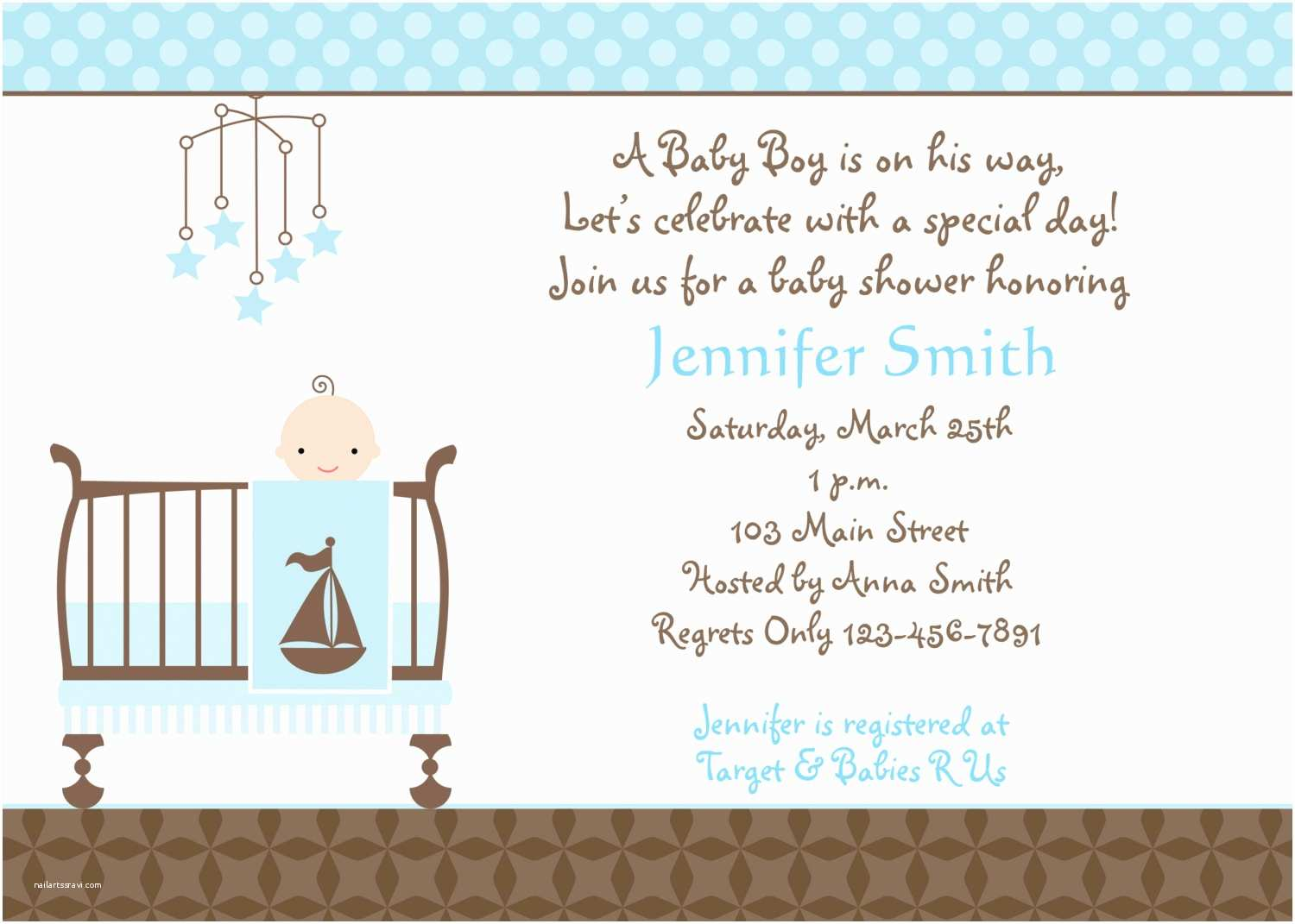 Party City Invitations for Baby Shower Template Baby Shower Invitations for Boy