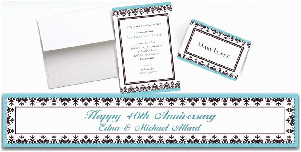 Party City Wedding Invitations Custom Always & forever Wedding Invitations & Thank You