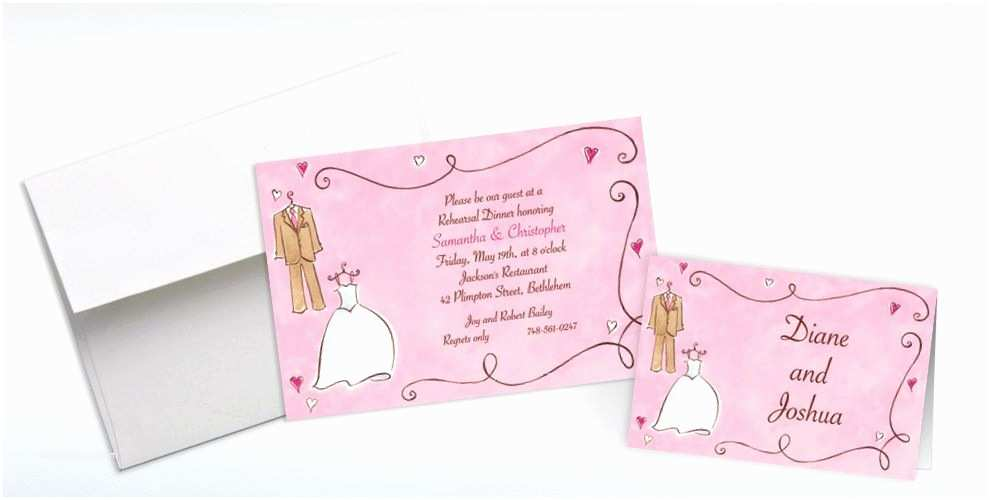 Party City Wedding Invitations Custom Bride & Groom with Swirls Wedding Invitations