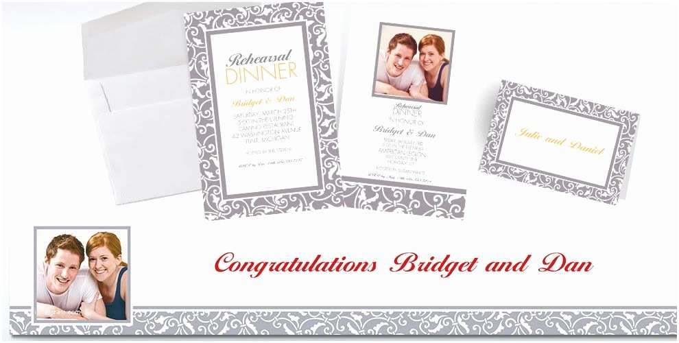 Party City Wedding Invitations Custom Silver Wedding Invitations & Thank You Notes