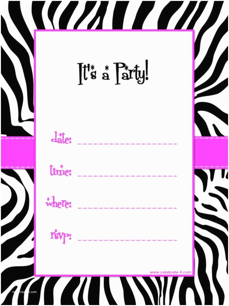 Party Invitation Ideas Birthday Party Invitations Template