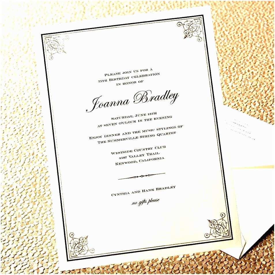 Party Invitation Sample formal Dinner Invitation Sample