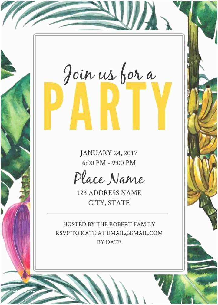 Party Invitation Template 16 Free Invitation Card Templates & Examples Lucidpress