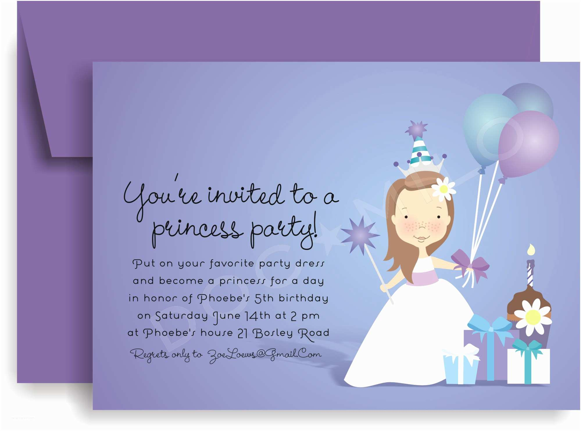 Party Invitation Template Birthday Party Invitation Templates