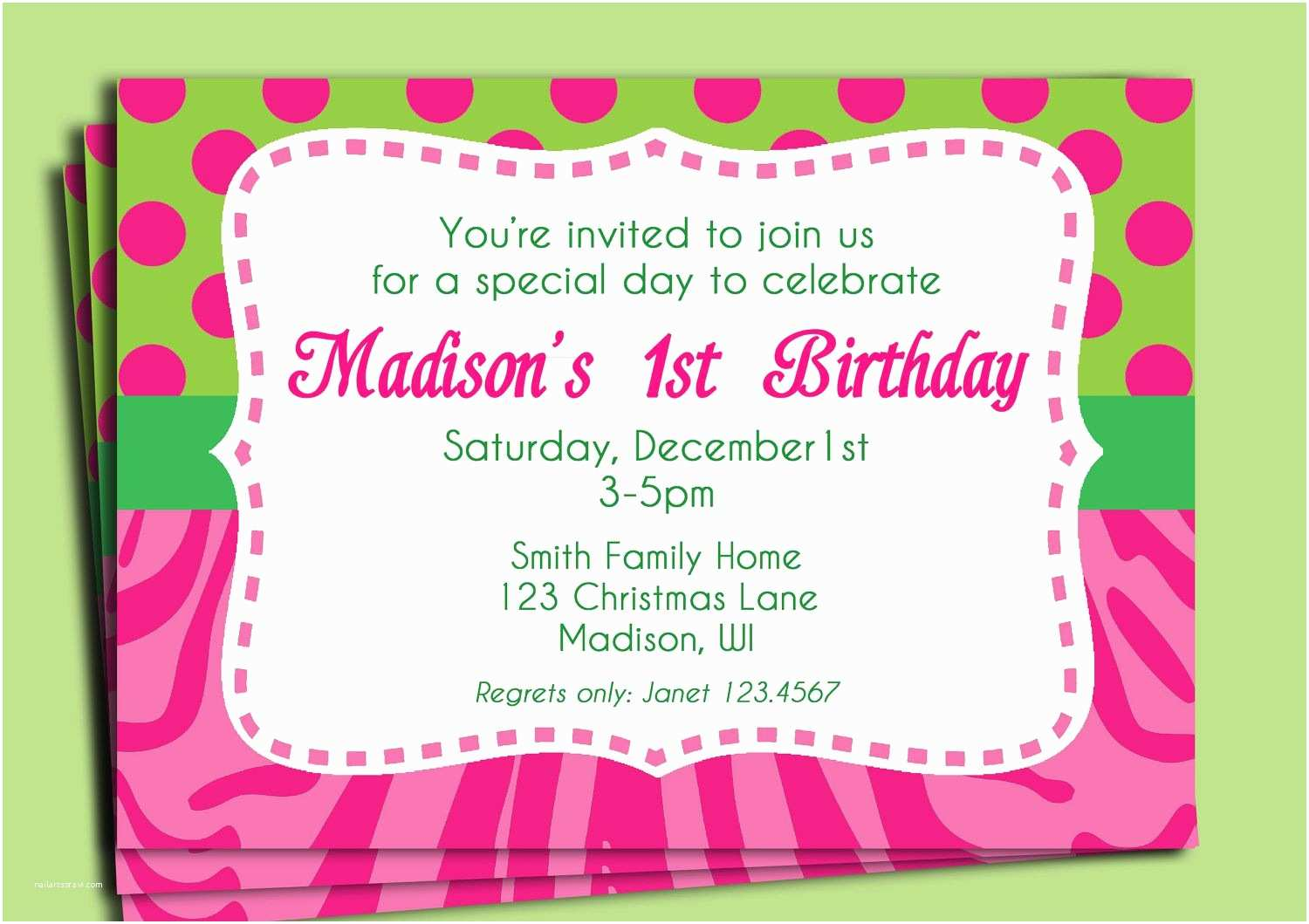Party Invitation Text Message Birthday Wording