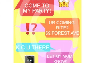 Party Invitation Text Message Text Message Birthday Invite For 7 00