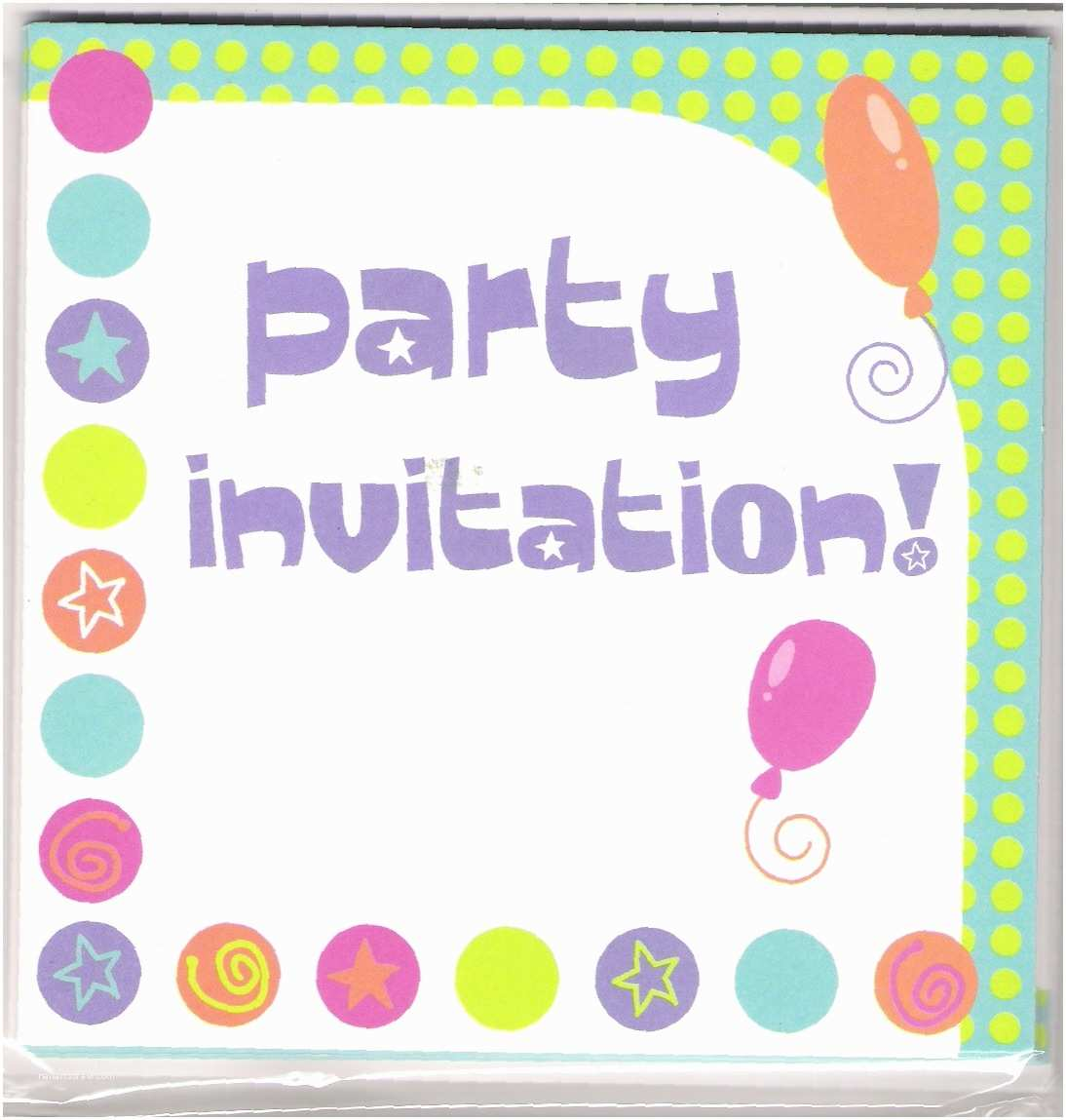 Party Invitations 15 Party Invitations Excel Pdf formats