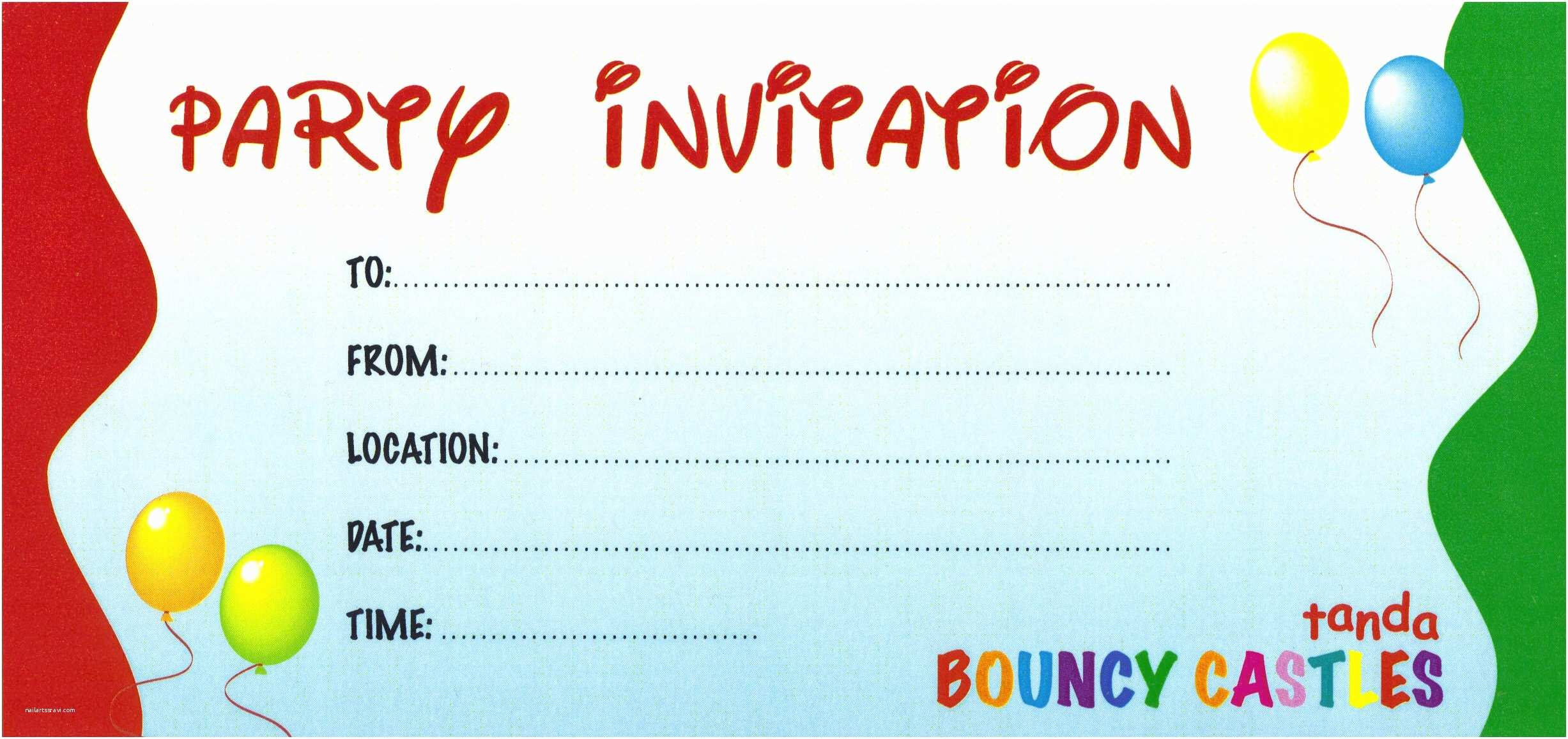 Party Invitations Online Free Party Invitations