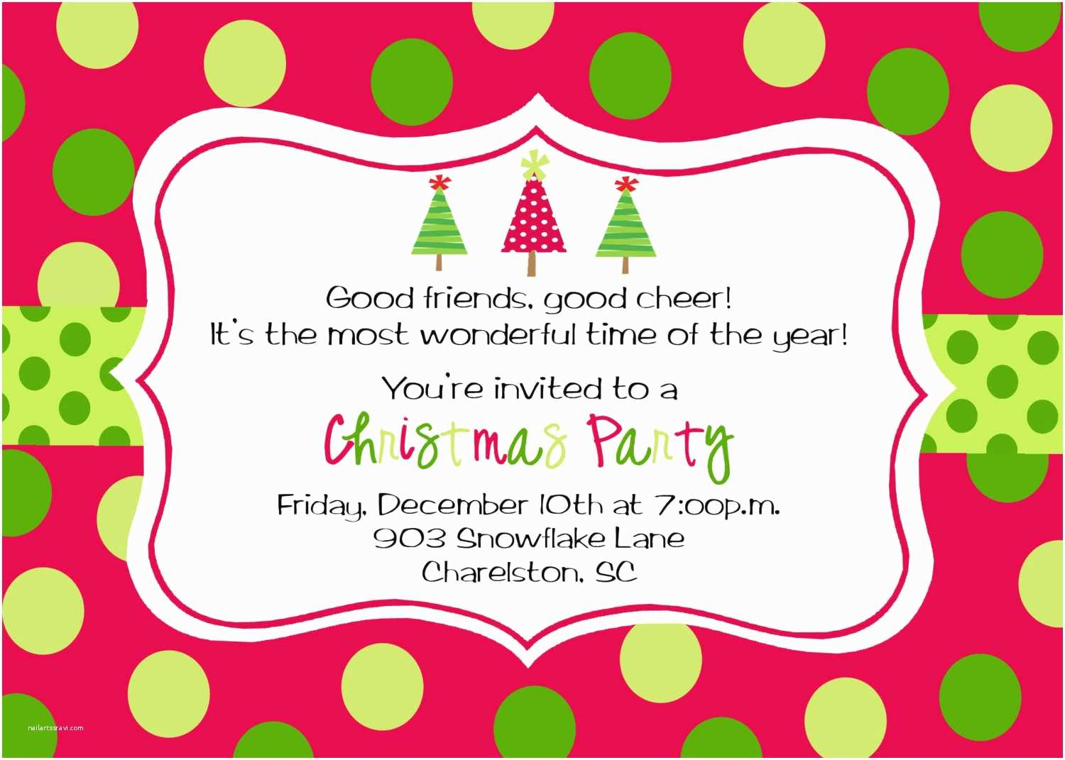 Party Invitations Online Free Printable Christmas Party Invitations Templates