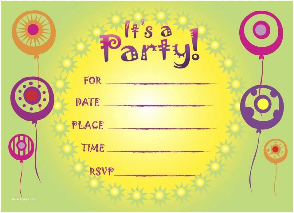 Party Invitations Online Kids Birthday Invitations