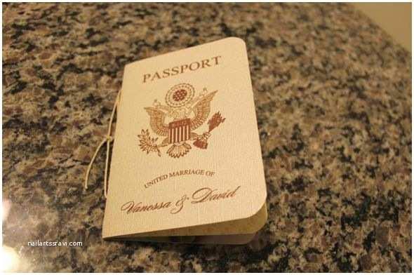 Passport Wedding Invitation Template Diy Passport Wedding Invitations Template Yaseen for