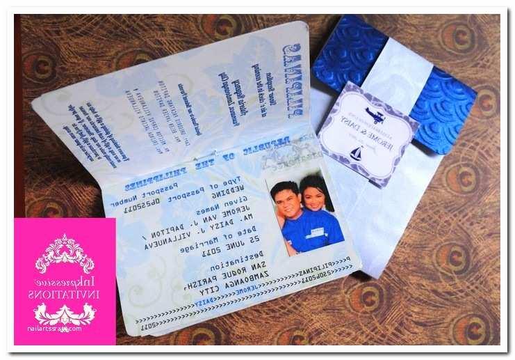 Passport Wedding Invitation Template Passport Wedding Invitation Template – orderecigsjuicefo