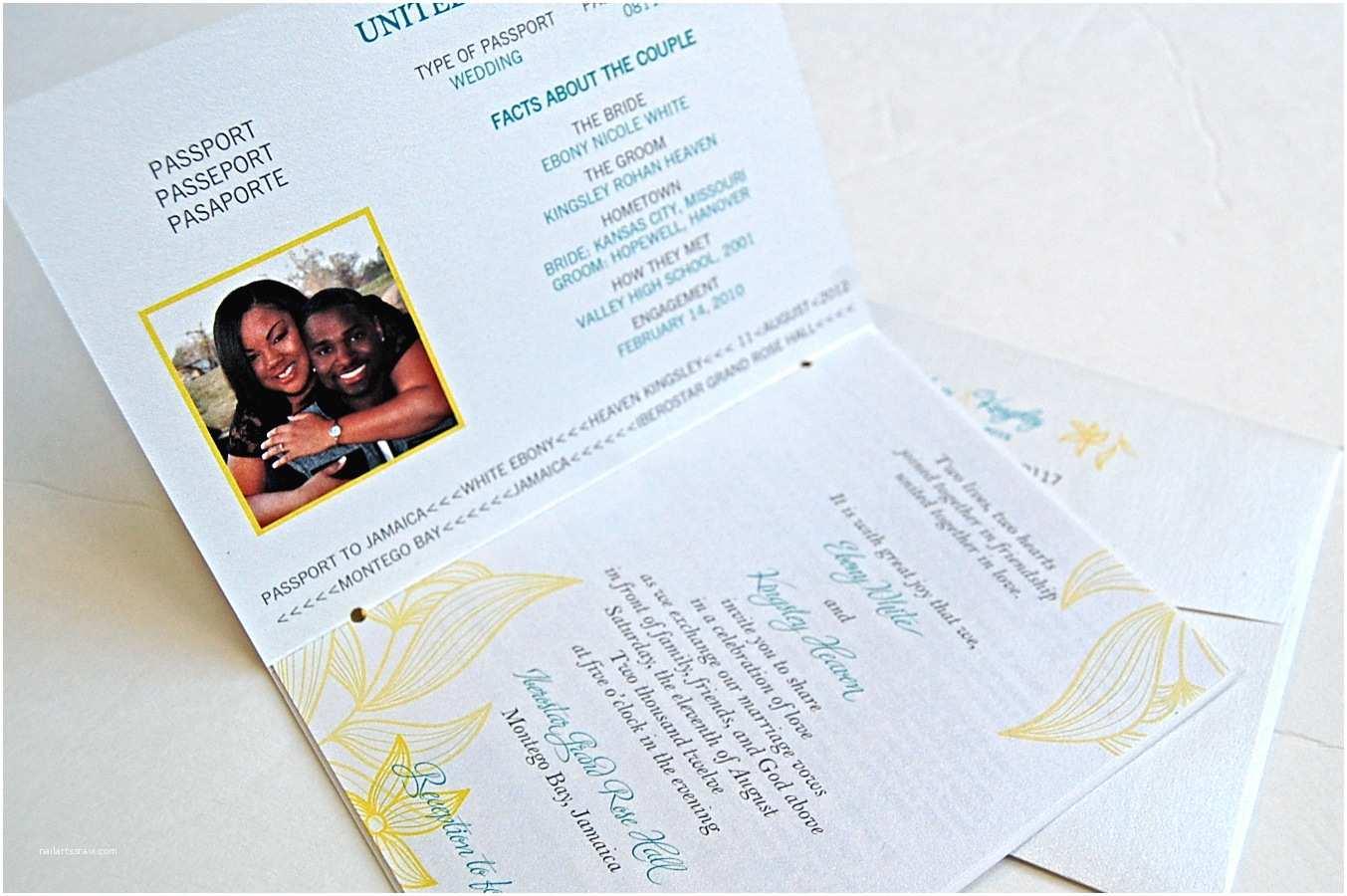 Passport Wedding Invitation Template Passport Wedding Invitation Templates