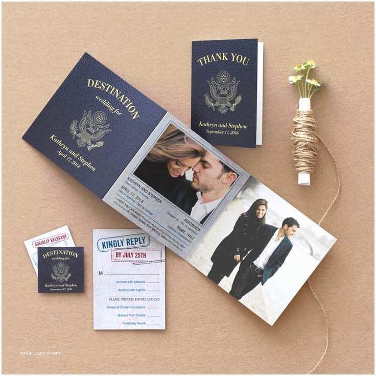 Passport Wedding Invitations Cheap Best 25 Destination Wedding Invitations Ideas On