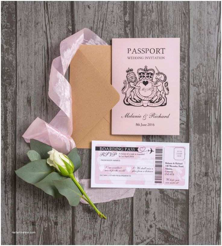 Passport Wedding Invitations Cheap Best 25 Passport Invitations Ideas On Pinterest