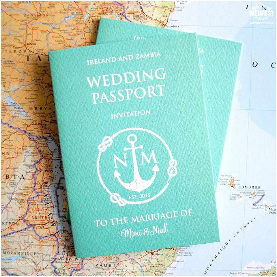 Passport Wedding Invitations Cheap Passport Wedding Invitations