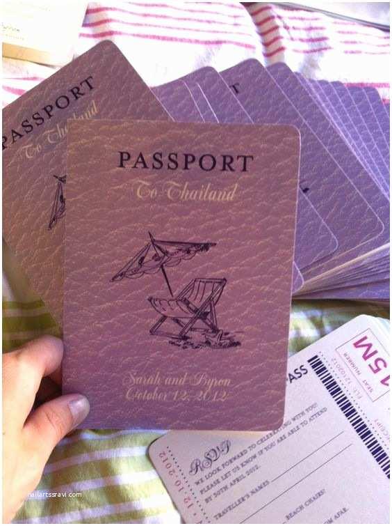 Passport Wedding Invitations Cheap Pinterest • the World's Catalog Of Ideas